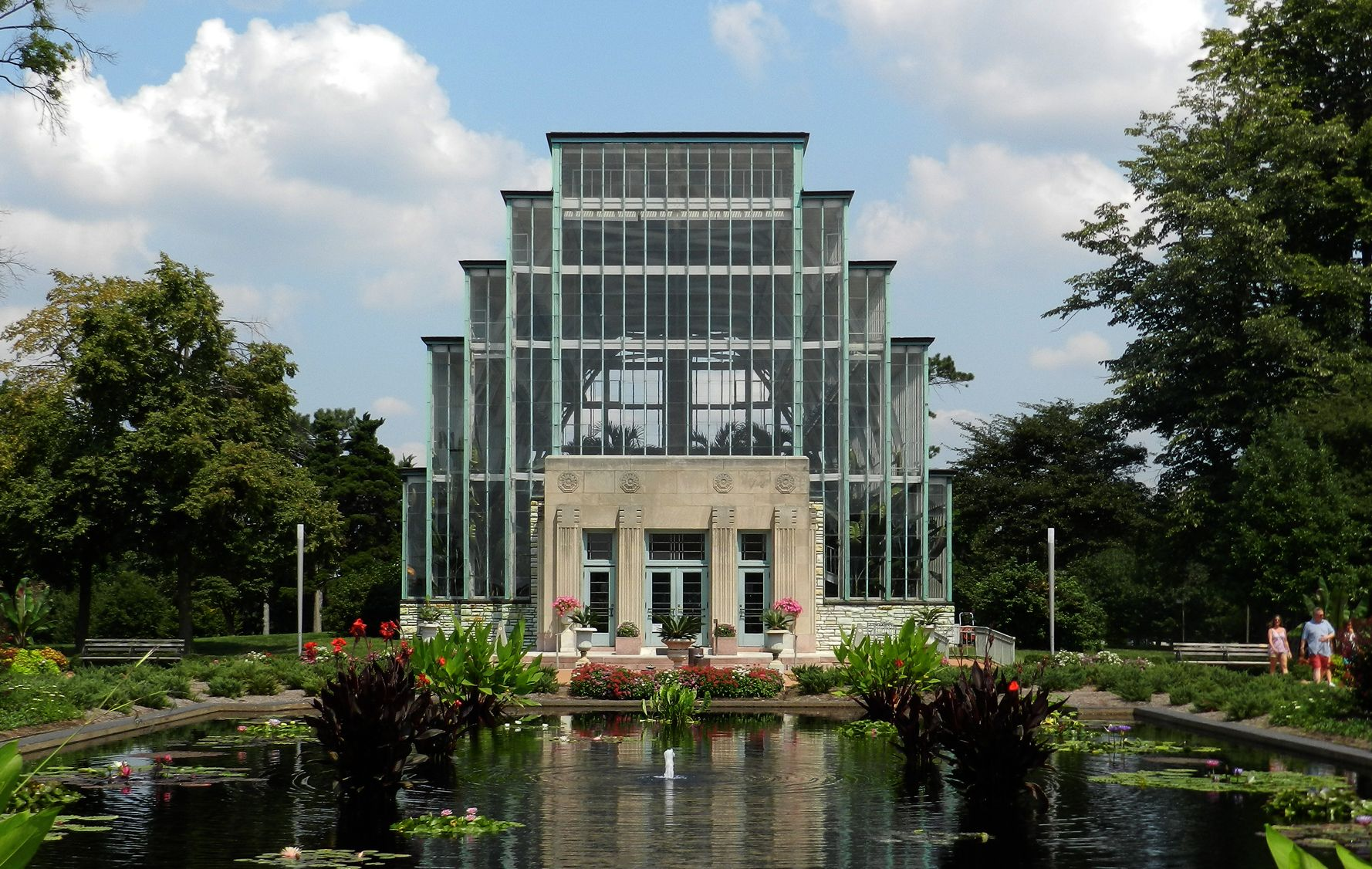St. Louis jewel box building